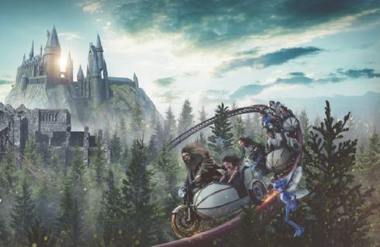 Hagrid's Magical Creatures Motorbike Adventure, Wizarding World of Harry Potter, Universal Orlando Resort