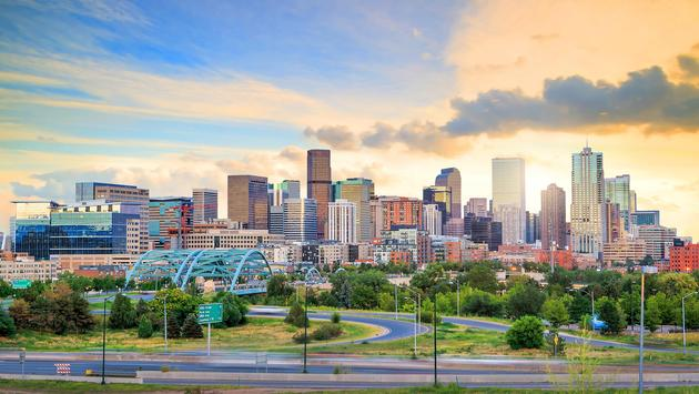 Panorama of Denver, Colorado