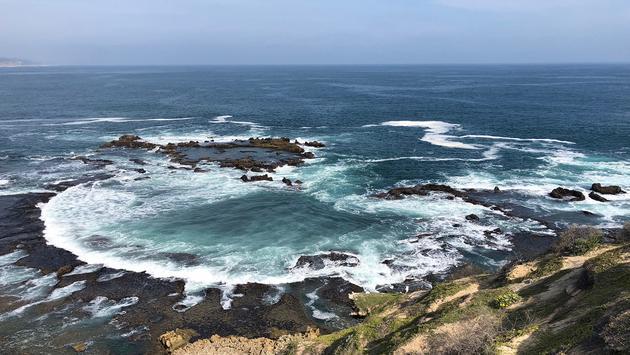 Indian Ocean off Knysna, South Africa