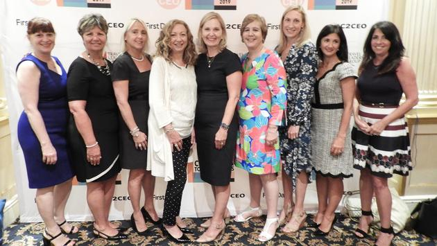 Travel Leaders attend Cinderella to CEO awards.