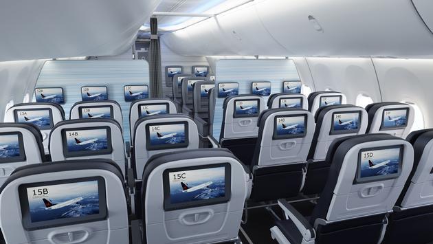 Air Canada Boeing 737 MAX economy class