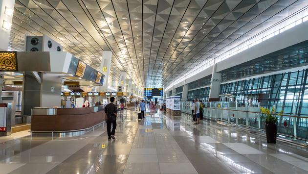 Soekarno Hatta, airport, Indonesia