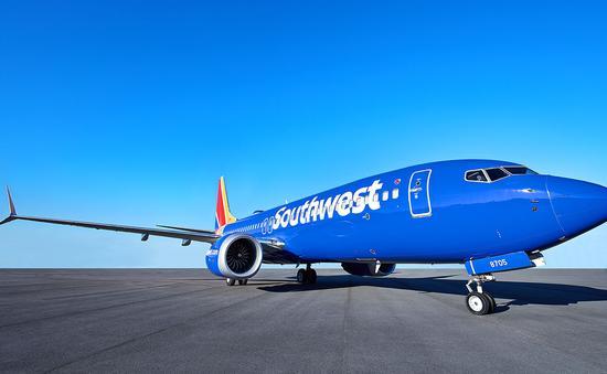 Southwest 737 MAX 8 plane