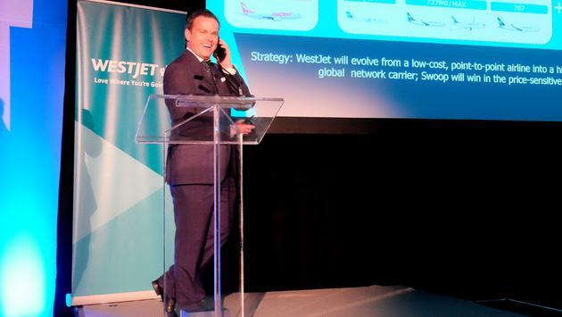 Richard Bartrem, WestJet
