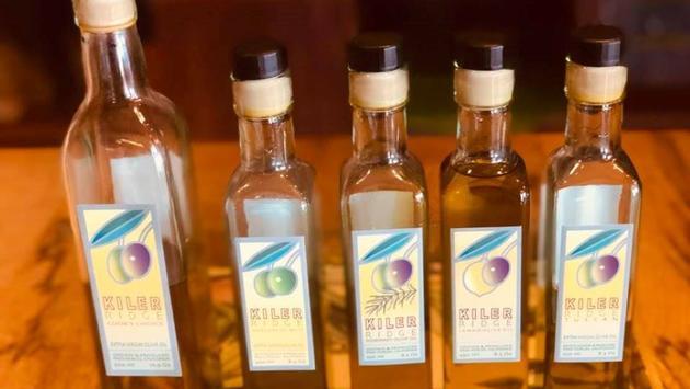 Kiler Ridge olive oils