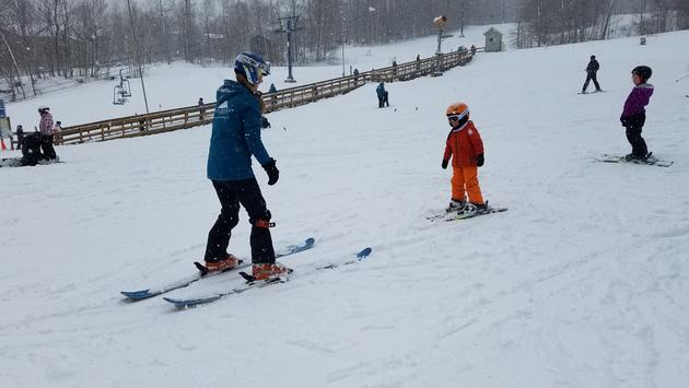 Smugglers'Kids Ski Lessons at Smugglers' Notch Resort in Vermont, Courtesy of Adam White Notch Resort