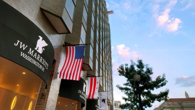 JW Marriott Washington D.C. exterior
