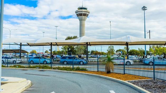 Perth, airport, Australia
