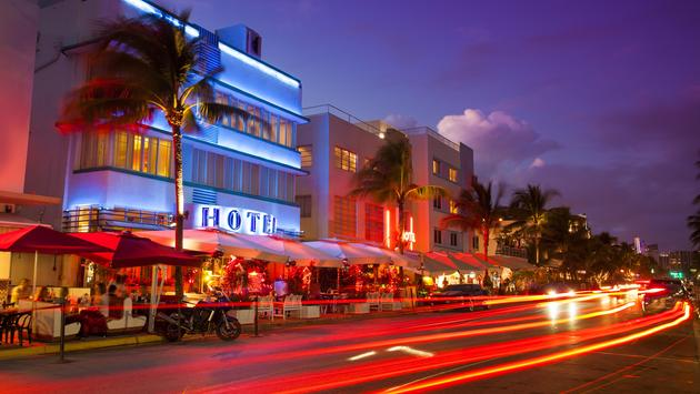Ocean Drive, Miami, Florida, nightlife
