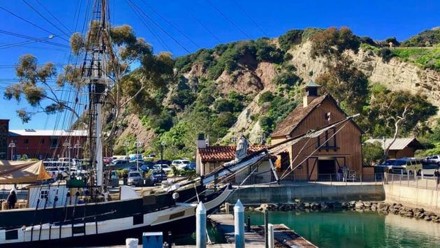 Ocean Institute at Dana Point Harbor in  Southern California