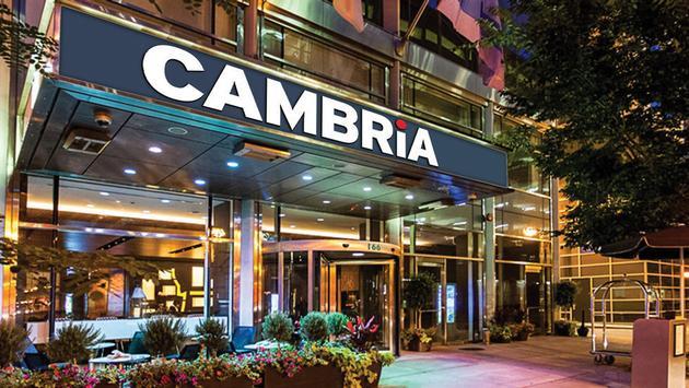 Cambria Hotel Exterior