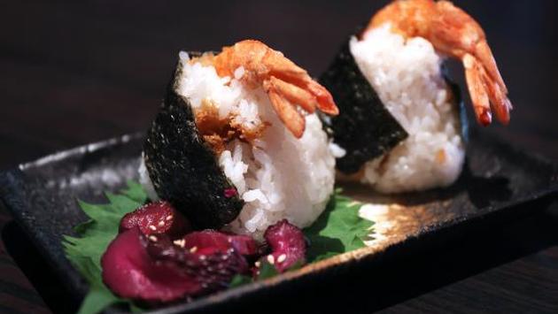 Tenmusu Tempura Shrimp Rice Wrap