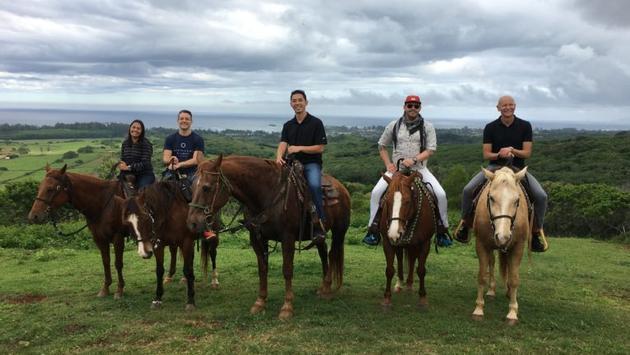 Horseback ride in Hawaii