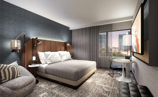Rendering of Tempo by Hilton Power Down Zone
