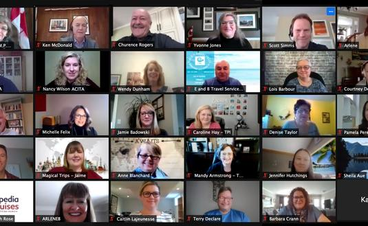 ACITA Zoom Chat With Canadian MP's