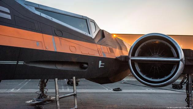 X-wing Starfighter under development for Star Wars: Galaxy's Edge at Walt Disney World Resort and Disneyland