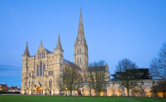 England's Salisbury Cathedral