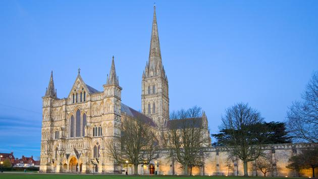 England's Salisbury Cathedral