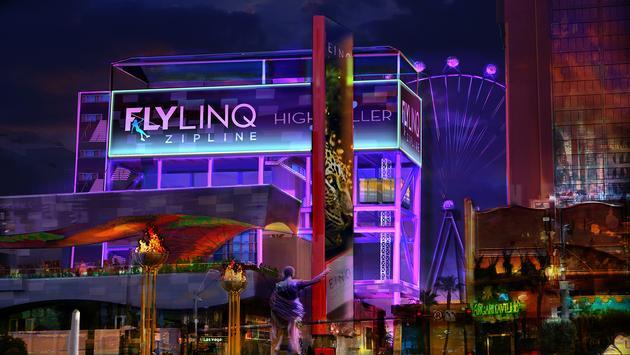 FlyLINQ Zipline