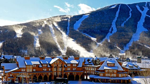 The Lodge at Stowe Mountain Resort in Vermont, Courtesy of Stowe Mountain Resort