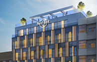 Hard Rock Hotel Madrid rendering