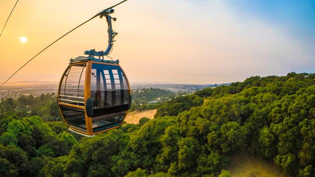 gondola, oakland, zoo, views, california