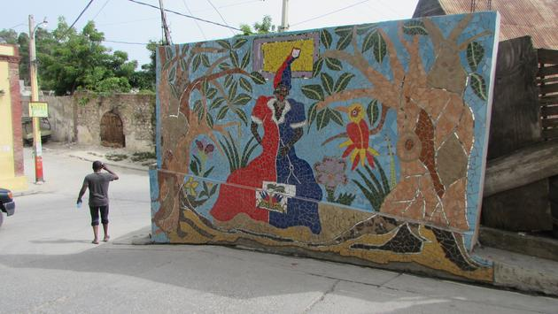 In Jacmel, Haiti.