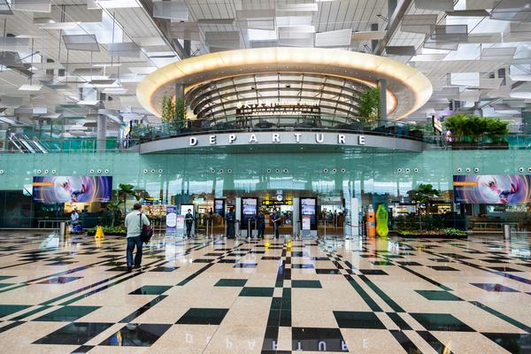 WATCH: Airport Slide Makes Catching Your Next Flight in Singapore Easier
