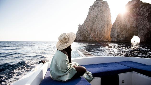 The famed Faraglioni of Capri