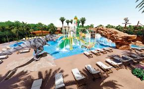 Planet Hollywood Cancun Jurassic Splash Pad