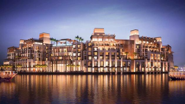 Taj hotel at the Deira Creek in Dubai