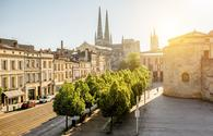 Bordeaux city in France