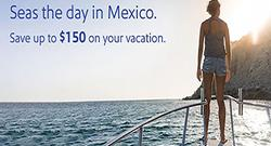 Save up to $150 on getaways to Mexico