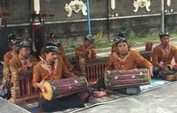 Balinese musicians