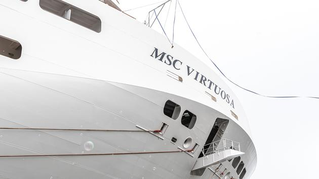 MSC Cruises' MSC Virtuosa.