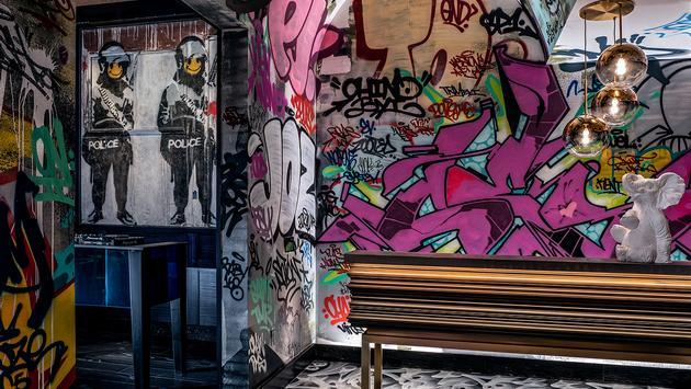 graffiti, art, banksy, CES