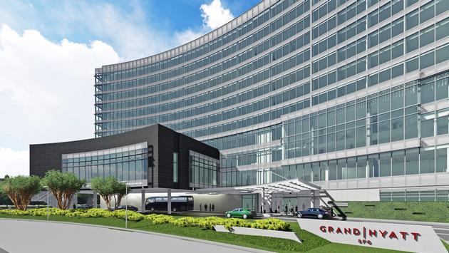 Rendering of the Grand Hyatt at SFO