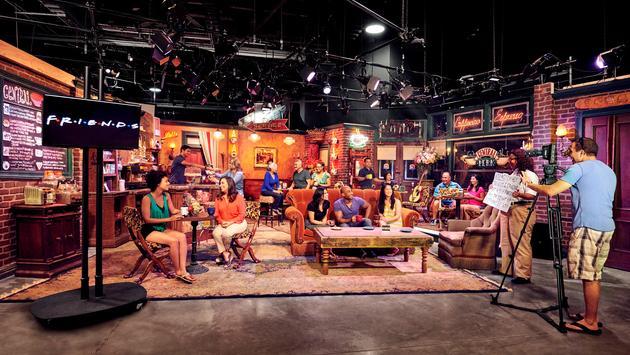 Central Perk Cafe, Friends, Warner Bros. Studio Tour Hollywood