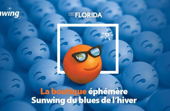 Boutique éphémère Sunwing du blues de l'hiver