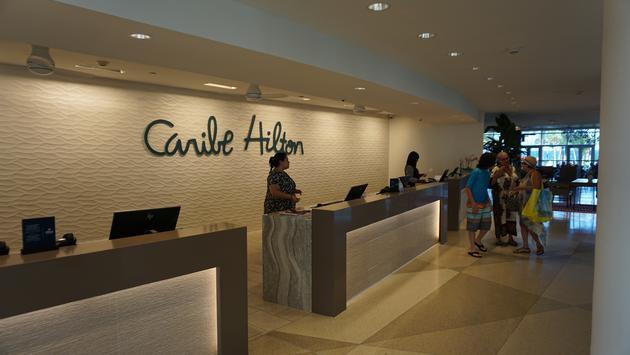 Caribe Hilton San Juan lobby