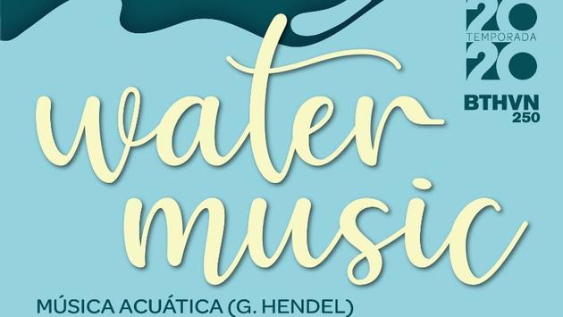 """Se presentará el concierto """"Water Music"""" en el Teatro de Cancún, Quintana Roo"""
