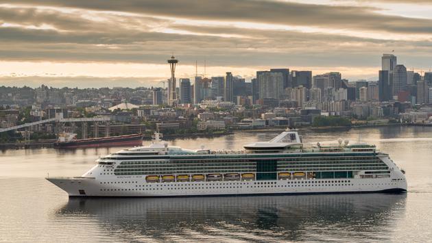 Serenade of the Seas at Seattle