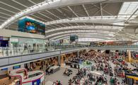 A busy terminal inside London
