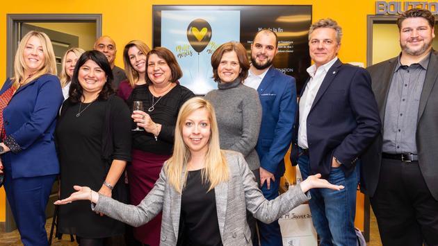 Soirée de lancement de l'agence Destination de rêve