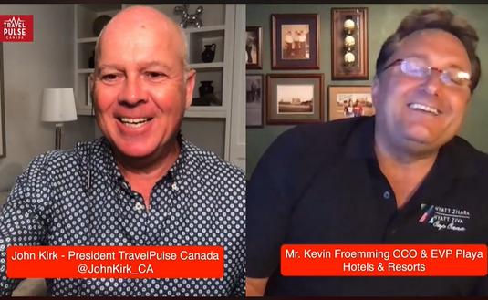 John Kirk and Kevin Froemming of Playa Hotels and Resorts