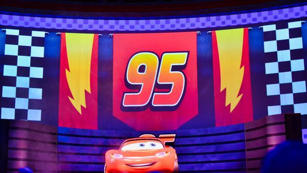 Hollywood Studios, Cars, Lightning McQueen,