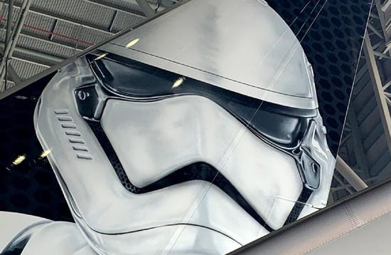 LATAM unveils the first image of its Star Wars: Galaxy's Edge-inspired aircraft