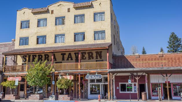 Historic Downtown Truckee, California