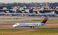 A Delta Air Lines Boeing 717-200 at Atlanta