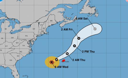 Hurricane, Humberto, storm